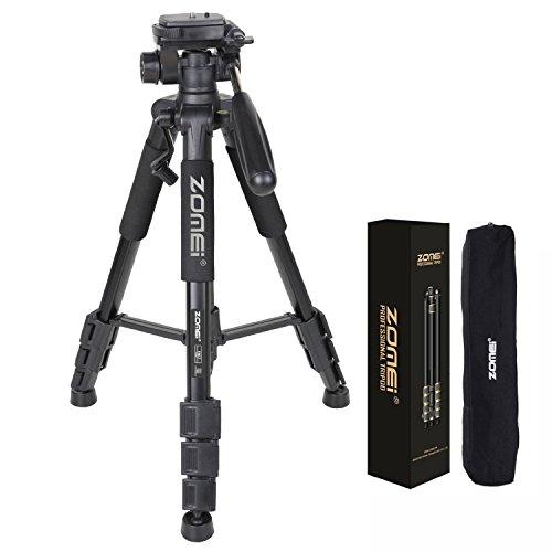 Light Stand Takara Spirit 3: ZOMEI 55″ Light Weight Aluminum Tripod Flexible Camera